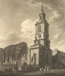 View of St Botolph's Church, Bishopgate